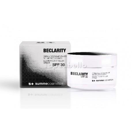 Crema Facial Blanqueante BECLARITY BLEMISH SPF30 Summe Cosmetics+ 50ml