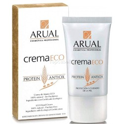 Crema de Manos ECO ARUAL 40ml - Ingredientes naturales con Certificado Ecológico