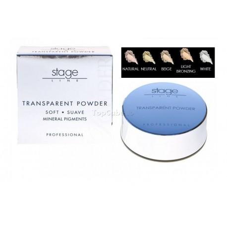 Polvos Sueltos Transparent Powder Stage Line Laurendor 30gr