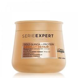 Mascarilla Absolut Repair DORÉ Gold Quinoa + Protein Serie Expert LOREAL 250ml