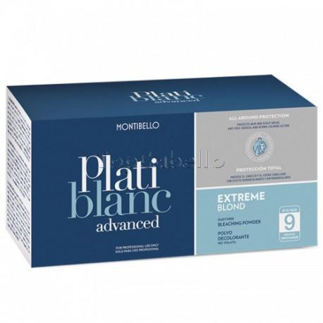 Decoloracion Platiblanc EXTREME BLOND Montibello Advanced 2x500gr (9 tonos)
