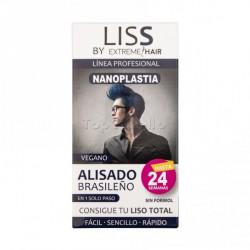 Alisado Brasileño para Hombre 1 Solo Paso LISS by EXTREME HAIR 100ml