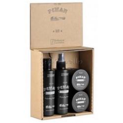 Estuche HAIR PCMAN Profesional Cosmetics (Champu+Locion+Hard Pomade+Soft Pomade)