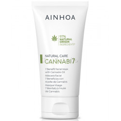 Máscara Facial 7 Beneficios con Aceite de Cannabis CANNABI7 Ainhoa 200ml