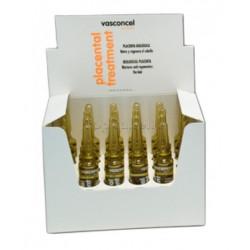 Tratamiento Ampollas Placenta Biológica Anticaída Vasconcel (24x10ml)