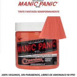 Tinte Fantasía Semipermanente MANIC PANIC Classic DREAMSICLE (sin parabenos, amonicaco ni PPD)