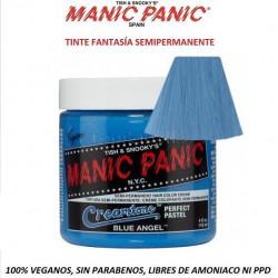 Tinte Fantasía Semipermanente MANIC PANIC Classic BLUE ANGEL (sin parabenos, amonicaco ni PPD)