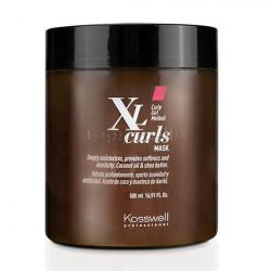 Mascarilla cabellos rizados y ondulados XL CURLS MASK Kosswell 500ml