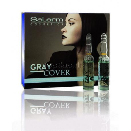 Cubre Canas Salerm Gray Cover (12 ampollas 5 ml.)