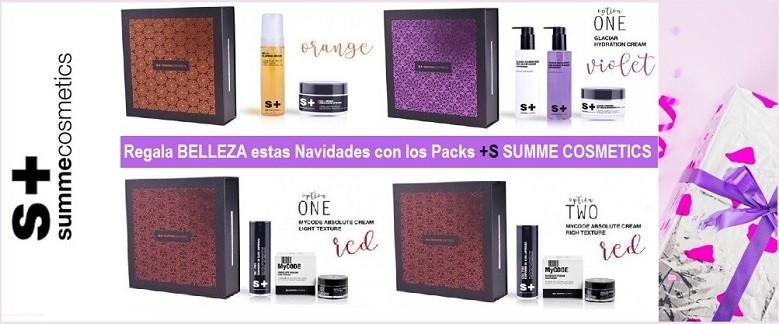 Packs Tratamientos Faciales Summe Cosmetics - Ideales para regalar