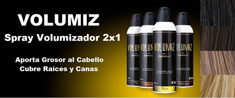 Volumiz, Nuevo Spray 2x1 Densificador Capilar y Cubrecanas